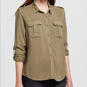 GLAM size small utility shirt